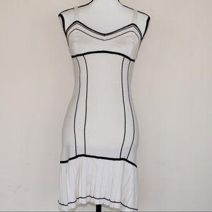 NWT Betsey Johnson Knit Sweater Pleated Dress